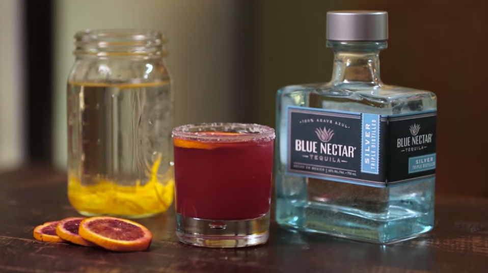 Habanero-Infused Blood Orange Margarita